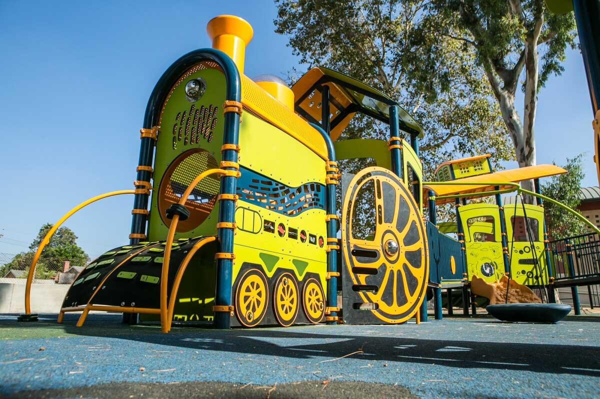 Sepulveda Customized Train Playground